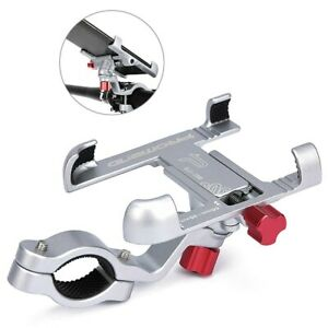 Strong Aluminum Alloy Bike Phone Mount Bicycle Motorcycle Holder 360 Degree