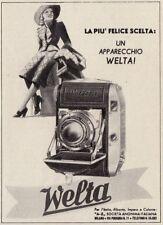 Z3713 Macchina fotografica WELTA - Pubblicità d'epoca - 1940 vintage advertising