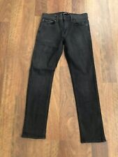 hollister jeans Boys Size  28x 30 Black Skinny Fit Advanced Stretch