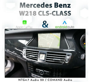 Mercedes Benz W218 CLS-Class 2011 - 13 : Touch & dial CarPlay & Android Auto