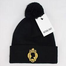 f6830f376 Actual Fact J Dilla Silhouette Hip Hop Bobble Pom Pom Black Beanie Hat