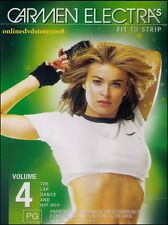 CARMEN ELECTRA FIT TO STRIP Dance Workout Fitness Exercise Toning NEW DVD Reg 4