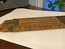 LUFKIN YARD STICK FOLDING MEASURING TOOL VINTAGE