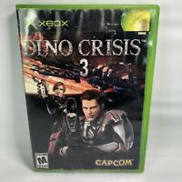 Dino Crisis 3 (Microsoft Xbox, 2003) Complete with Manual - Disc Flawless