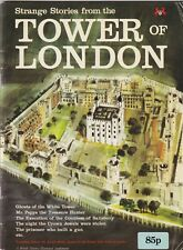 Strange Stories From The Tower of London - 1976 Tourist Guide