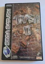 Trash It (Sega Saturn - Complete, Very Good Condition)