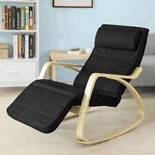 Sobuy Rocking Chair Fauteuil À bascule Fauteuil Berçante Chaise Fst16-sch FR