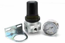 "1/4"" Air Compressor Regulator Industrial Grade W/ Pressure Gauge + Mount Bracket"