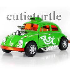 Kinsmart Volkswagen Beetle Custom Dragracer 1:32 Diecast Toy Car KT5405D Green