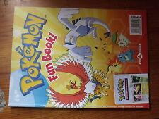 $$ Livre Pokemon Fun Book!  Enigmes  Dessin  Bricolages