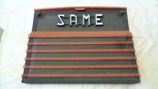SAME 130 Farm Tractor Grille