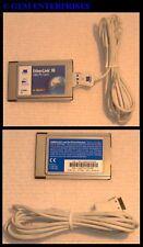 APPLE NEWTON PDA Mac 2000 2100 NETWORK CARD NIC + DONGLE & CD