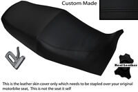 RED /& BLACK CUSTOM FITS SUZUKI GS 650 G KATANA DUAL REAL LEATHER SEAT COVER