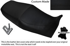 BLACK STITCH CUSTOM FITS YAMAHA XJ 900 S DIVERSION 94-04 LEATHER DUAL SEAT COVER