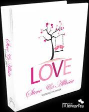 Wedding Planner/book of love/Diary/Book/Keepsake momento/Personalised