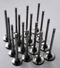 16 x INLET EXHAUST VALVES CLIO KANGOO MEGANE MUDUS LAGUNA SCENIC 1.4 1.6 K4M K4J