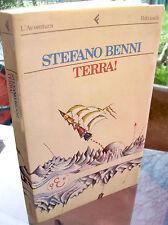 1983 STEFANO BENNI 'TERRA!' ROMANZO FANTASCIENZA IN PRIMA EDIZIONE