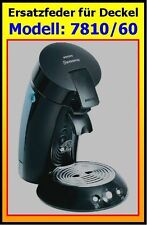 Ersatzfeder für Senseo Modell 7810/60 Ersatzteil für Deckel - einfache Montage !