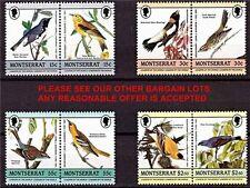 MONTSERRAT 1985 AUDUBON BIRDS MNH