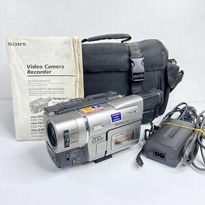 SONY Handycam Vision Video 8 XR - CCD-TRV47E - Video Camera - PAL - Works!