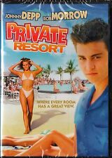 Private Resort (DVD, 2006) Johnny Depp, Rob Morrow  RATED- R