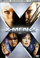 PELICULA DVD X-MEN 2 EDICION COLECCIONISTA 2 DISCOS + FUNDA HOLOGRAFICA RELIEVE