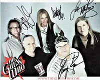 The Guess Who Autographed 8x 10 in. Photo as pictured 4 autographs