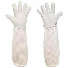 Premium Goatskin Beekeeping Gloves Bee Beekeeper Gloves With 3 Layers Large