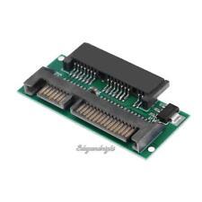 1.8''SDD 16Pin Micro SATA Female to 2.5'' 22Pin SATA Male Adapter Card Converter