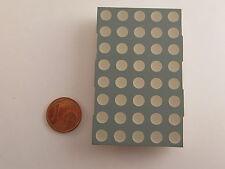 """60,8mm (2,4"""") 5x8 Dot Matrix Display Kingbright TA24-11EWA, rot, gem. Anode"""