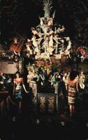 Disneyland Magic Kingdom Adventureland Park Enchanted Tiki Room CA Postcard 70's