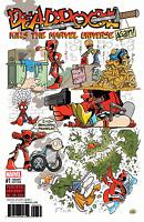 DEADPOOL KILLS THE MARVEL UNIVERSE AGAIN #1 FOSGITT VARIANT MARVEL COMICS