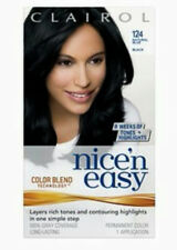 Clairol Nice 'n Easy Hair Color 124 Natural Blue Black AUTHENTIC HTF
