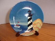 "Lighthouse 6"" Plate ~ Miniature Collectible"