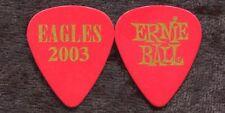 EAGLES 2003 Reunion Tour Guitar Pick!!! custom concert stage Pick #5