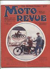 Moto Revue N°233 ; 27  aout  1927 : Harley Davidson 2 temps et forte cylindrée