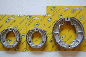 FRONT&REAR BRAKE SHOES fit POLARIS Outlaw 50 90 110  2007-2020 (SK133x2 SK106