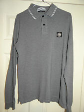 Stone Island Men's No Pattern Collared Casual Shirts & Tops