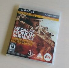 Medal of Honor: Warfighter (PlayStation 3) PS3 Complete GREAT CONDITION