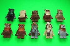 LEGO STAR WARS FIGUREN # ALLE 10 EWOKS CHIRPA TEEBO PABLOO WICKET LOGGRAY # =TOP