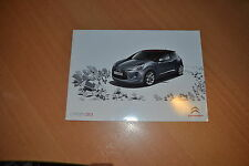 CATALOGUE Citroën DS3 d'août 2009