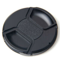 77mm Front Lens Cap Hood Cover Snap-on for Nikon Canon Tamron Tokina Black