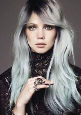 Original A21 Light Gray Ash Color Hair Cream Permanent Super Hair Dye Grey New.