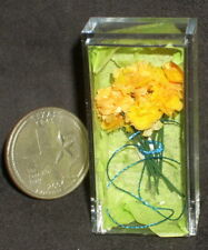 Day of The Dead Tissue Paper Mexican Orange Carnations 1:12 Miniature #5514