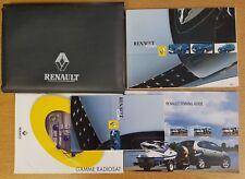 RENAULT CLIO III 2001-2003  OWNERS MANUAL HANDBOOK WALLET PACK D-478
