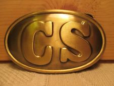~CS~ Southern Replica of Civil War Military CONFEDERATE Belt Buckle MAKE OFFER