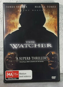 The Watcher DVD Thriller Marisa Tomei, Keanu Reeves