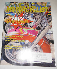 American Motorcyclist Magazine 2002 Daytona Back-Road Touring March 2002 071414R
