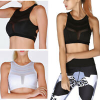 Women's Large Size Wireless Thickening Bra Gym Fitness Sports Running Tank Top