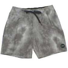 Oakley HT Volley Camo 36 XL Mens Casual Faded Grey Surf Board Shorts Walkshorts